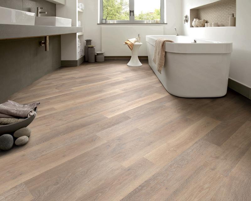 Pvc vloer badkamer  best houtlook eiken pvc vloeren